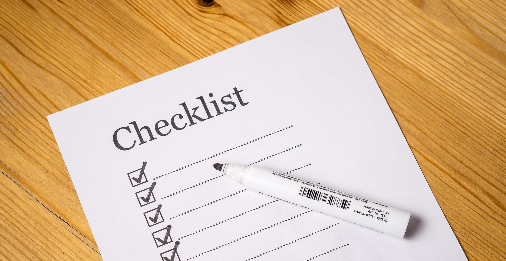 Checkliste für den Umzug zum Abhaken auf blog-baron.de